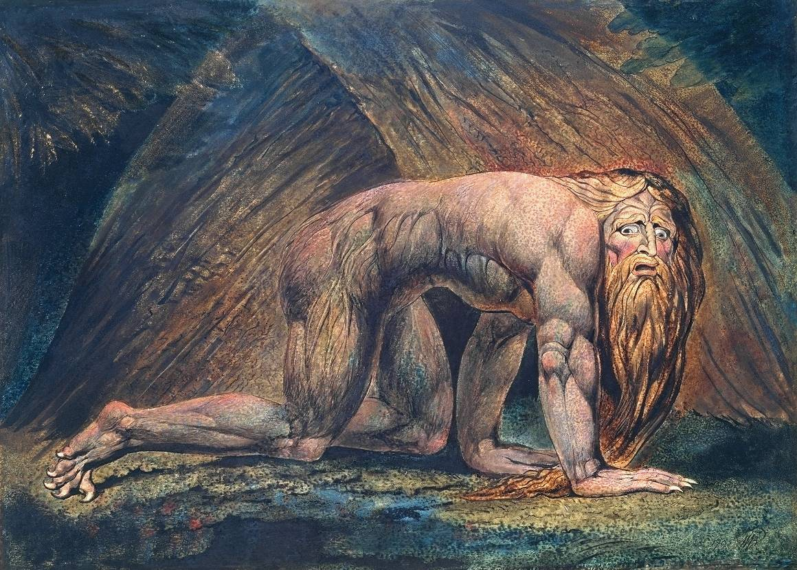 Nebuchadnezzar 1795/circa 1805 William Blake 1757-1827 Presented by W. Graham Robertson 1939 http://www.tate.org.uk/art/work/N05059